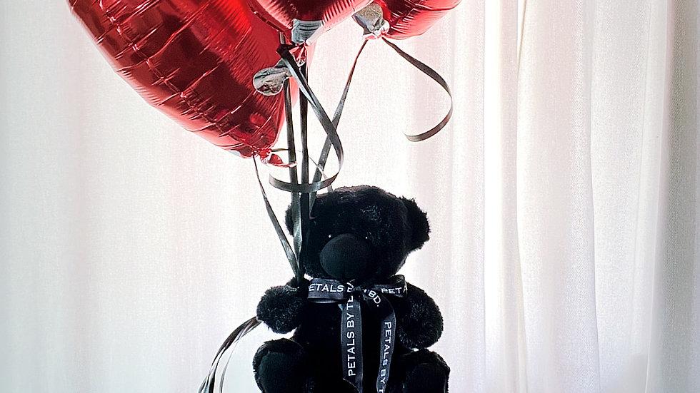 PETALS Bear & Balloon Bunch