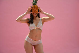Photo Fruit lingerie