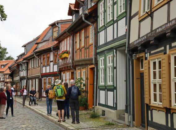 Sightseeing Wernigerode   Keep Moving   Taiji-Therapie   Training im Kloster bei Bewegungs