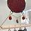 Thumbnail: Geometric red chime // suncatcher
