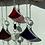 Thumbnail: red & black scales // suncatcher