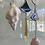 "Thumbnail: ""Mermaid's treasure"" // stained glass scales // suncatcher"