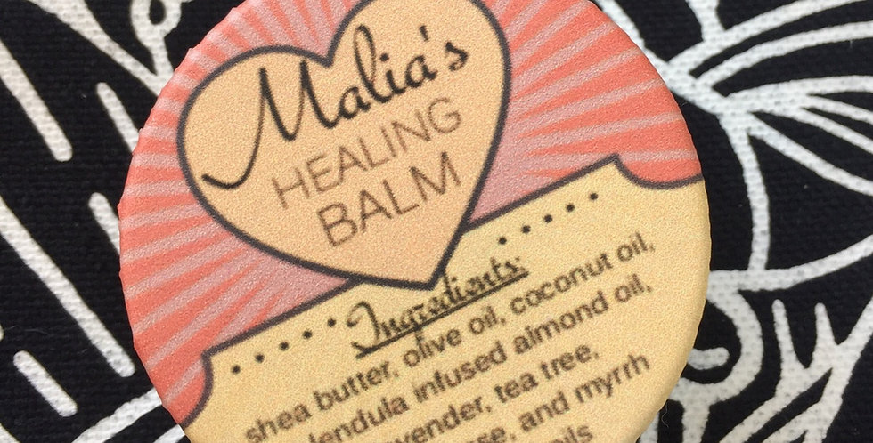 "malia's calendula ""healing balm"" // 1 ounce tin"