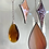 Thumbnail: Red and orange stars, circle and drop // suncatcher