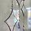 Thumbnail: Iridescent white stars // suncatcher