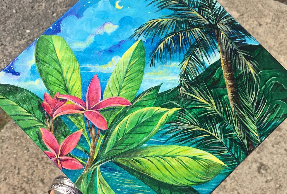 """Hawaii Kai"" acrylic on canvas"