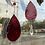 Thumbnail: Blood Moon // red stained glass // suncatcher