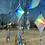 Thumbnail: Holographic moon+stars // suncatcher