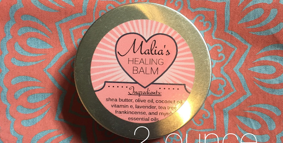 "malia's original ""healing balm"" // 2 ounce tin"