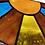 Thumbnail: Center window sunshine // stained glass // suncatcher