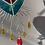 """Thumbnail: """"Sacred heart"""" // stained glass // suncatcher"""