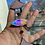 Thumbnail: Lavender scales // stained glass // suncatcher
