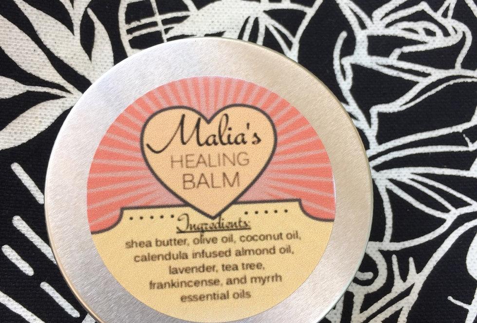 "malia's calendula ""healing balm"" // 2 ounce tin"