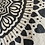 "Thumbnail: ""Spread the Love"" mandala // tea towel // gold or shimmery grey option"