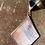 Thumbnail: Iridescent pink diamonds // stained glass // suncatcher