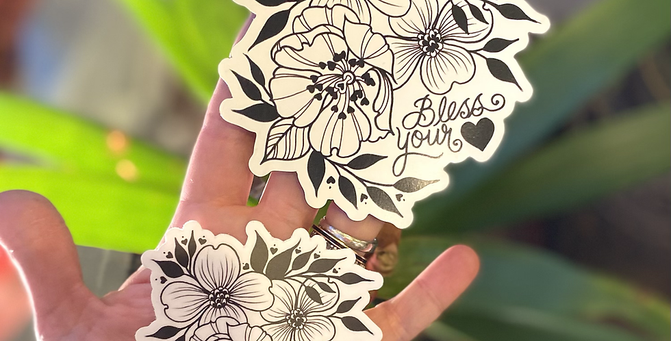 Bless your heart // sticker+magnet pack