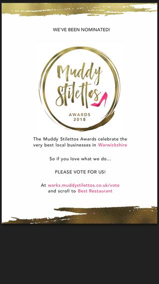 Muddy Stilettos Award Nomination