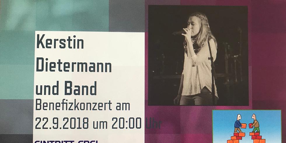 Benefizkonzert mit Kerstin Dietermann & Band