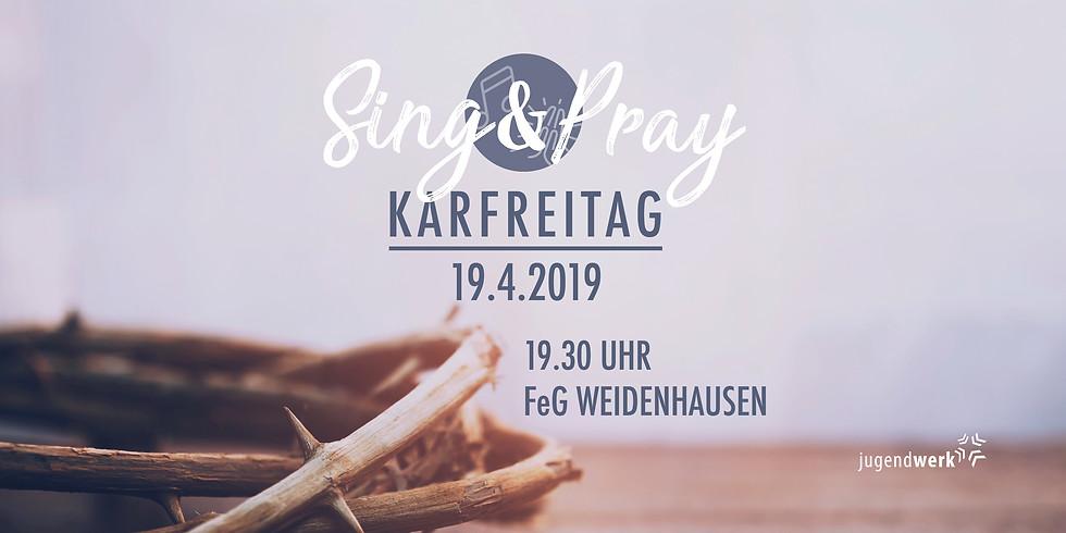 Sing & Pray Gottesdienst an Karfreitag