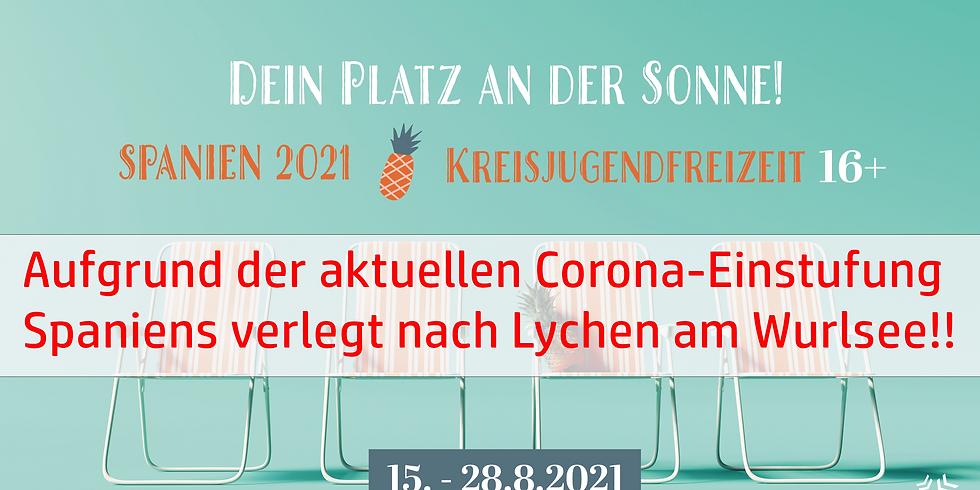 Kreisjugendfreizeit 2021 in Lychen am Wurlsee