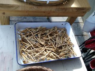 金ゴマから小豆
