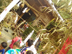 和布埼神社大祭がありました