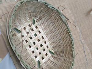 竹かご作りに思いを馳せる