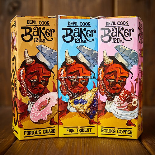 Жидкость Devil Cook Baker 120 мл