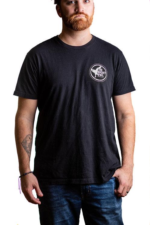 Night Owl Unisex Crew Tee - Black