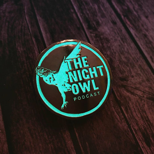 Glow in the Dark Enamel Pin