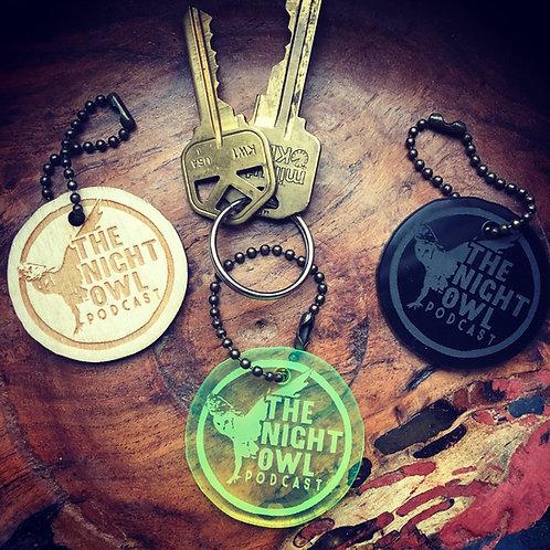Night Owl Key Chain