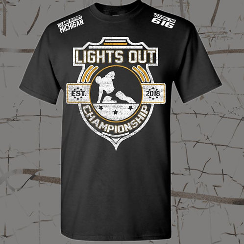 BELLA+CANVAS ® Unisex Jersey Short Sleeve Tee Lights Out Championship