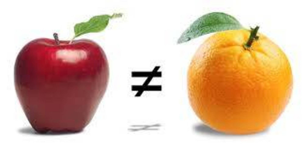 Same, same but different?