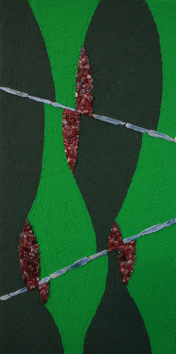 faulted eclogite (sold)