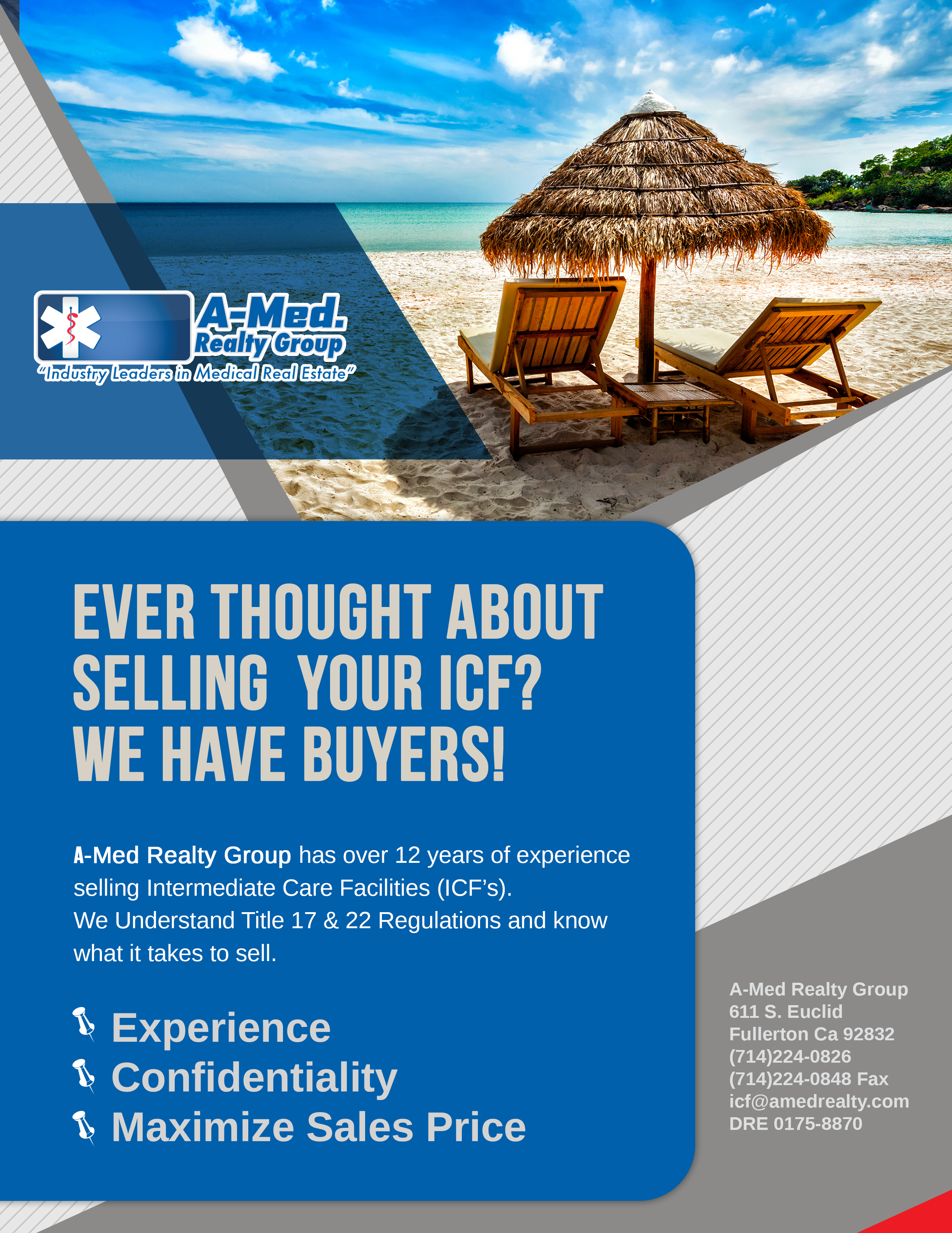 Commercial Realty Flyer Design