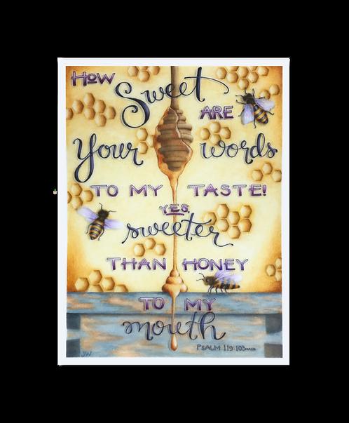Sweeter Than Honey Sticker