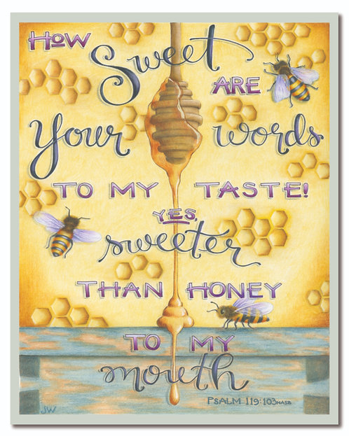 Sweeter Than Honey Art Print