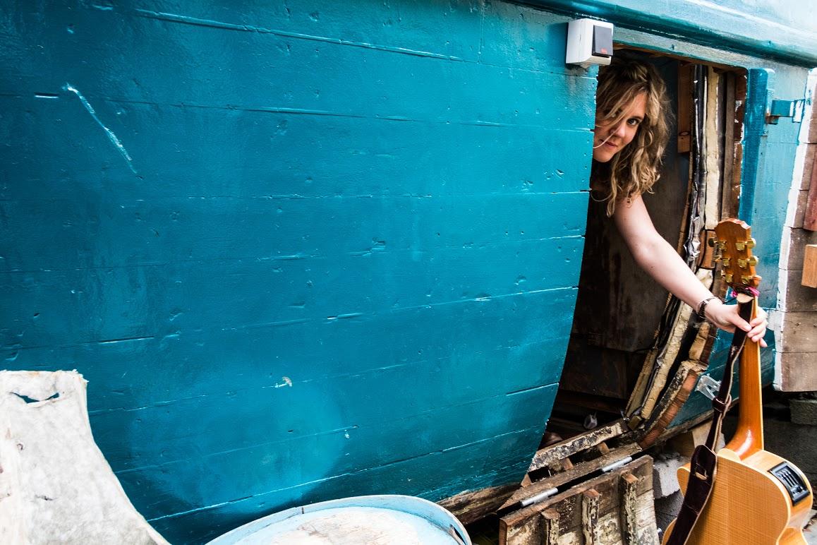 Kate at Frongoch boatyard, Aberdyfi
