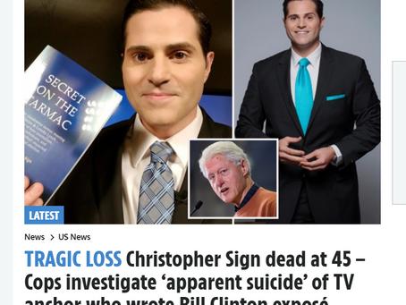 Klokkenluider Clinton-schandaal dood aangetroffen in appartement