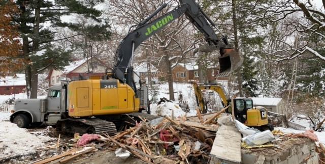 Park Ave Demo - Cox Contracting LLC