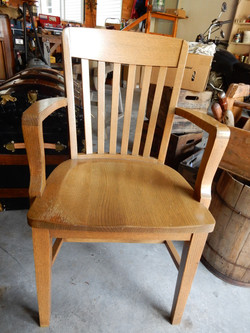 Vintage Bankers Chair
