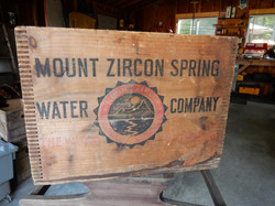 Antique Wooden Crate from Maine!