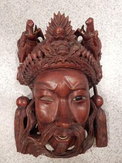 Asian Mask - Original Handcarved!