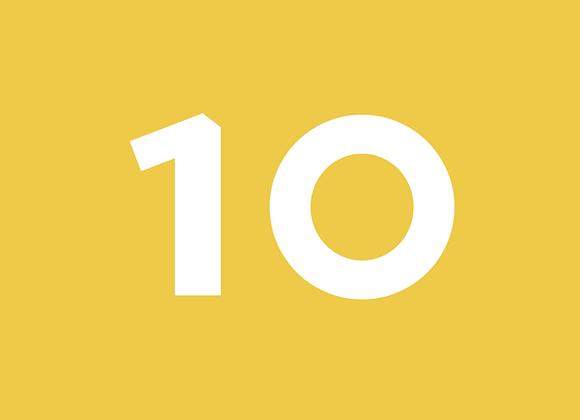 חבילת 10 שיעורים