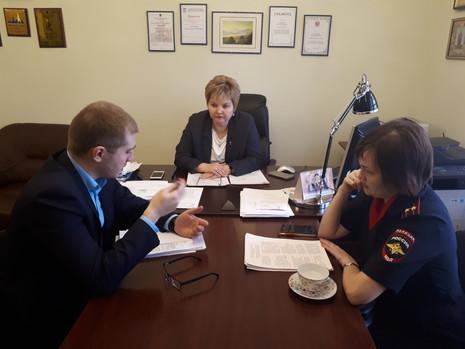 Встреча рабочей группы при комитете по законодательству ЗакС СПб по подготовке поправок к проекту за