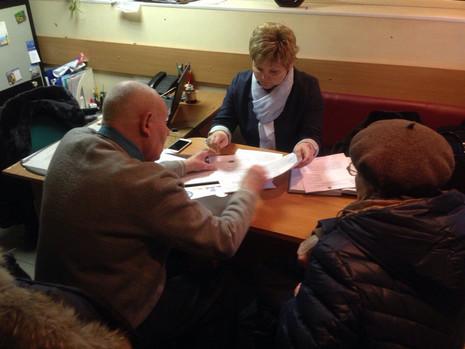 14 и 16 февраля депутат Вера Сергеева провела традиционные приемы жителей