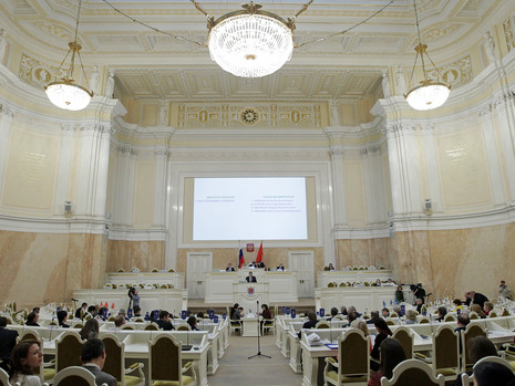 Отчет пресс-службы о заседании ЗС СПб 14 декабря 2016 г.