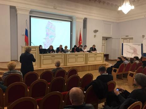 В Калининском районе состоялись публичные слушания по проекту изменений в Генеральный план Санкт-Пет