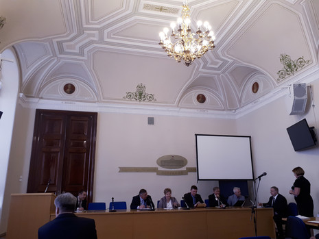 19 июня 2017 года в Мариинском дворце состоялось заседание постоянной комиссии по вопросам правопоря
