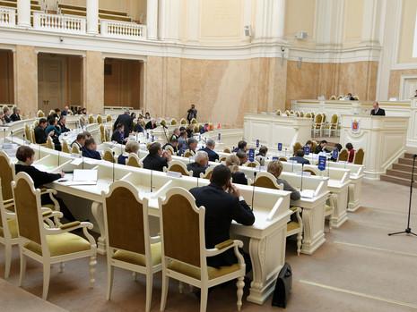 Отчет пресс-службы о заседании ЗС СПб 9 ноября 2016 г.